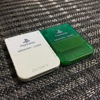 PlayStation - プレイステーション用 メモリーカード 二枚セット