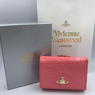 ヴィヴィアンウエストウッド(Vivienne Westwood)の新品 vivienne 3つ折り財布 ピンク(財布)