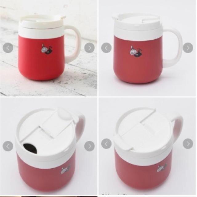 AfternoonTea(アフタヌーンティー)の完売品 Moomin×Afternoon Tea/ステンレス マグカップ レッド インテリア/住まい/日用品のキッチン/食器(グラス/カップ)の商品写真