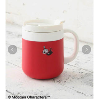 AfternoonTea - 完売品 Moomin×Afternoon Tea/ステンレス マグカップ レッド