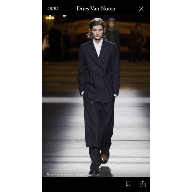 DRIES VAN NOTEN(ドリスヴァンノッテン)のDriesvannoten 16aw ダブルジャケット ドリスヴァンノッテン メンズのジャケット/アウター(テーラードジャケット)の商品写真