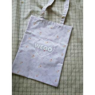 ウィゴー(WEGO)のWEGO ☆ペタンコトートバッグ(トートバッグ)