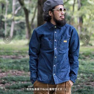 ネイタルデザイン(NATAL DESIGN)の【ネイタルデザイン】キルテッドシャツ4  サイズL(Gジャン/デニムジャケット)