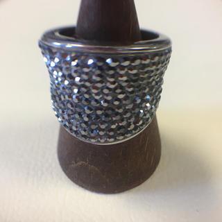 古着屋購入 マーカサイト風 楕円風 リング 指輪 14号 (リング(指輪))