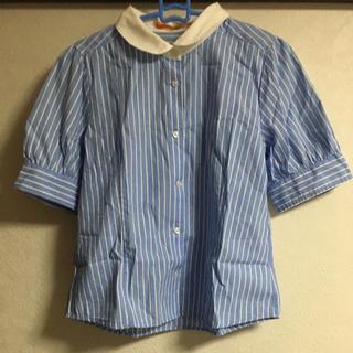 フィント(F i.n.t)のFint ストライプシャツ(シャツ/ブラウス(半袖/袖なし))