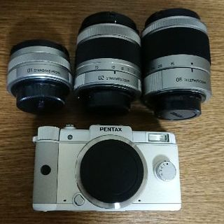 PENTAX - PENTAX Q レンズ3個セット