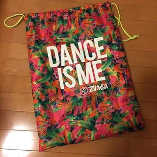 Zumba - ZUMBA ズンバ ウェア 袋 ダンスウェア入れ バック イベントエクササイズ