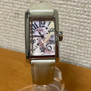 オリエント(ORIENT)の【良品】ORIENT オリエント io 時計 スクエア型(腕時計)