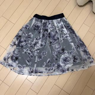 COCO DEAL - COCO DEAL♡フレアネイビー膝丈スカート