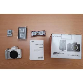 Canon - キャノン EOS Kiss M ボディ(ホワイト)