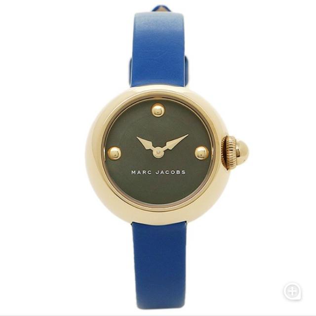 MARC JACOBS - MARC JACOBS 腕時計 青の通販