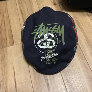 ステューシー(STUSSY)の帽子(ハンチング)(ハンチング/ベレー帽)