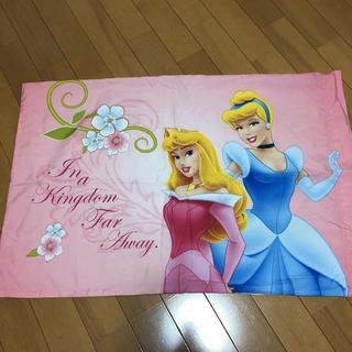 Disney - ヴィンテージシーツ 枕カバー プリンセス