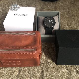 ゲス(GUESS)のguess ゲス 腕時計&時計しまいケース(guess)(腕時計)