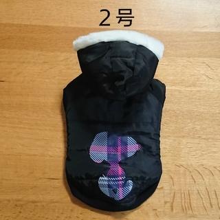 スヌーピー(SNOOPY)の【新品】2号 スヌーピー  シルエット ブルゾン ブラック 犬服(ペット服/アクセサリー)