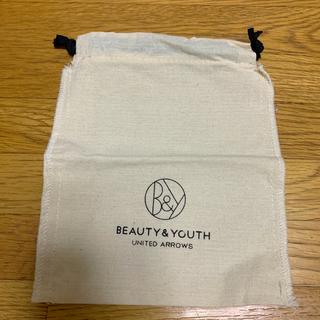 ビューティアンドユースユナイテッドアローズ(BEAUTY&YOUTH UNITED ARROWS)のBEAUTY&YOUTH 巾着 袋(ショップ袋)