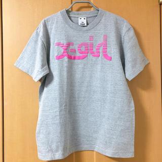 エックスガール(X-girl)のX-girl SLICE LOGO TEE(Tシャツ(半袖/袖なし))