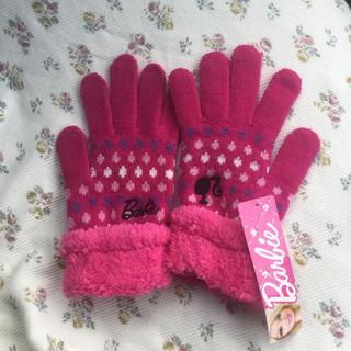 バービー(Barbie)の新品タグ付き♡バービー手袋♡(手袋)
