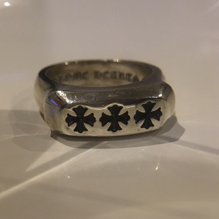 クロムハーツ(Chrome Hearts)のクロムハーツ lil pj 3ch plus ring 人気サイズ 20号(リング(指輪))