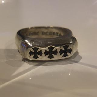 クロムハーツ(Chrome Hearts)のクロムハーツ lil pj 3ch plus ring 定価10万円 20号(リング(指輪))