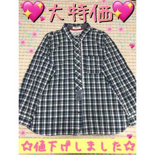 グリーンチェックシャツ(Tシャツ(長袖/七分))