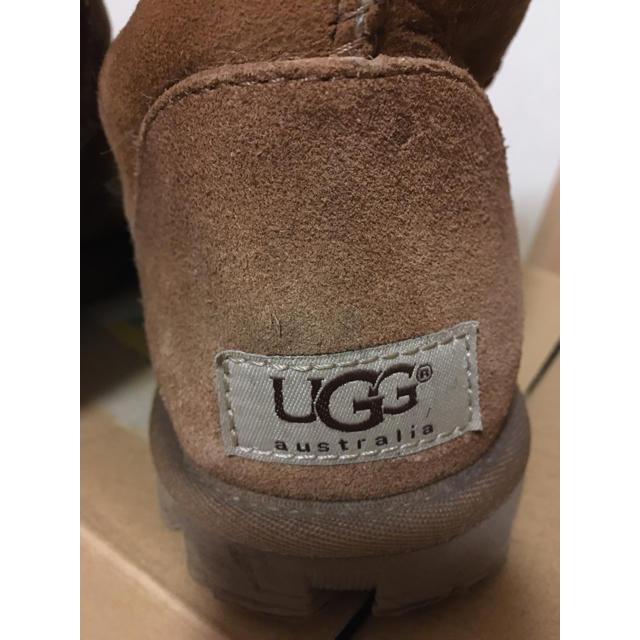 UGG(アグ)のUGG ロングブーツ 24cm  ブラウン 茶色 ムートンブーツ ブーツ レディースの靴/シューズ(ブーツ)の商品写真