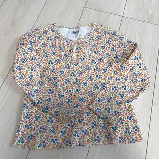 エーアーベー(eaB)のeab トップス サイズ120 小花柄(Tシャツ/カットソー)