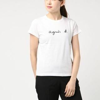 アニエスベー(agnes b.)の新品未使用 agnes b. ロゴTシャツ(Tシャツ(半袖/袖なし))