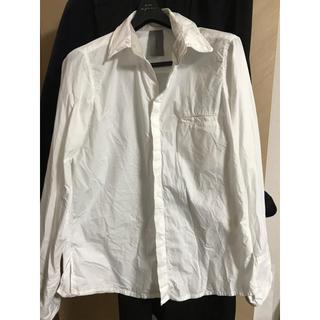 インフルエンス(Influence)の美品日本製 インフルエンス Influenceシャツ 白 サイズS(シャツ)