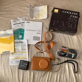 Nikon - Nikon クールピクスp330+ケース付き
