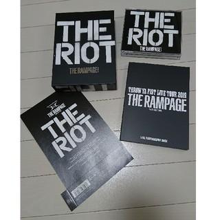 ザランページ(THE RAMPAGE)のTHE RAMPAGE THE RIOT CD+2DVD 初回生産限定盤(ポップス/ロック(邦楽))