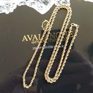 AVALANCHE - アヴァランチ 10k YG ロープチェーン ネックレス アバランチ