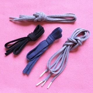 服紐2種と靴紐2本のセット(その他)