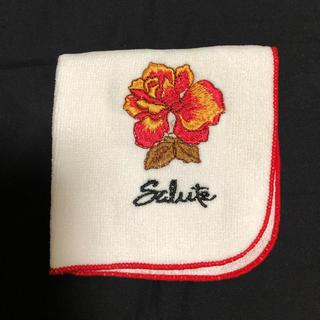 ワコール(Wacoal)の新品未使用品★ワコール サルート ★薔薇刺繍ハンカチ (ハンカチ)