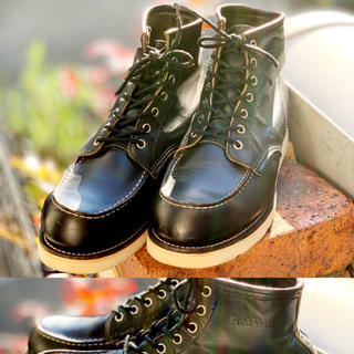 レッドウィング(REDWING)のRED WING 8130 9 2E 27cm 刺繍羽タグ90s(ブーツ)