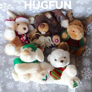 コストコ(コストコ)のHUGFUN クリスマス ぬいぐるみ ★オーナメント★未使用★(ぬいぐるみ)