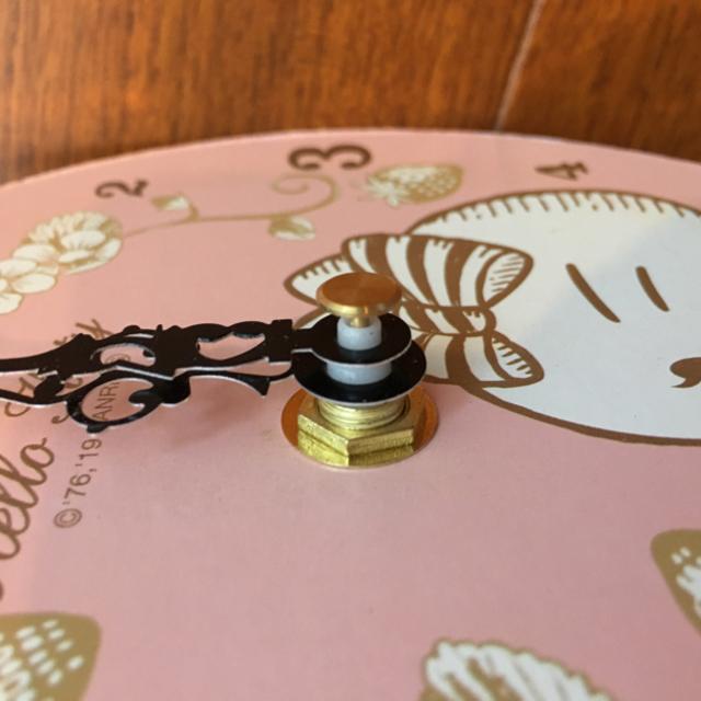 ハローキティ(ハローキティ)のハローキティ 時計(壁掛)※新品・未使用・非売品 インテリア/住まい/日用品のインテリア小物(掛時計/柱時計)の商品写真