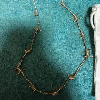 アンブッシュ(AMBUSH)の【求む】アンブッシュ 有刺鉄線 ネックレス(ネックレス)