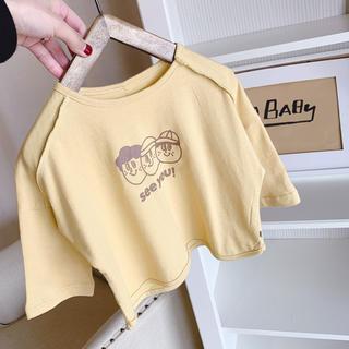 プティマイン(petit main)の大人気! くすみ色Tシャツ(Tシャツ/カットソー)