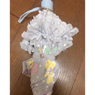 アンジェリックプリティー(Angelic Pretty)のToy Fantasyアンブレラ★サックス★折りたたみ傘(傘)
