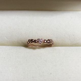 スタージュエリー(STAR JEWELRY)のStar jewelry K10 ダイヤリング(リング(指輪))