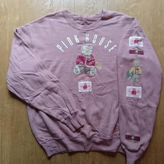ピンクハウス(PINK HOUSE)のM&K600様専用♪ピンクハウス PINK HOUSE トレーナー🎵(トレーナー/スウェット)