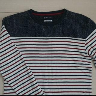 シップス(SHIPS)のSHIPS ロング Tシャツ 切り替え ボーダー(Tシャツ/カットソー(七分/長袖))