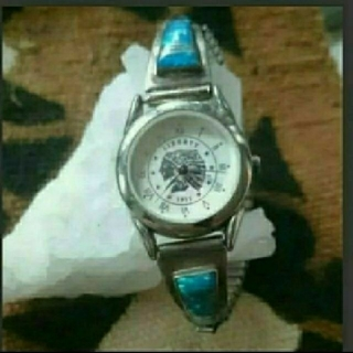 インディアン(Indian)の【インディアンジュエリー】腕時計(腕時計)