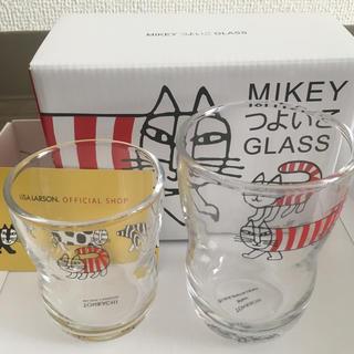 リサラーソン(Lisa Larson)のMIKEY つよいこ GLASS(グラス/カップ)