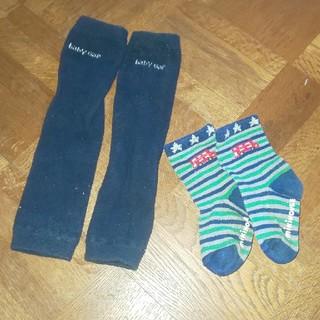 ミキハウス(mikihouse)のレッグウォーマー&靴下セット(レッグウォーマー)