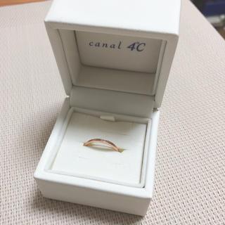 canal4℃ - 4℃ ピンクゴールド×ダイヤモンド