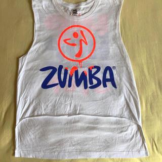 Zumba - ZUMBAノースリーブリメイクTシャツ XS /Sサイズ 中古です。