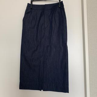 ルシェルブルー(LE CIEL BLEU)のルッシェルブルーデニムタイトスカート(ひざ丈スカート)