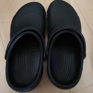 crocs - クロックス  ビストロ24~25cmブラック美品!